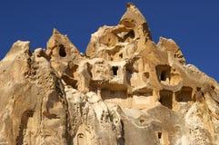 sikt för cappadociagoremekalkon Arkivfoton