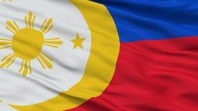Sikt för Closeup för flagga för FilippinernaFvr förslag royaltyfria foton