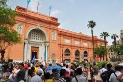 Sikt för Egypten Kairogata Royaltyfri Foto
