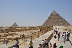Sikt för Egypten Kairogata Royaltyfri Bild