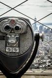 Sikt för fågelöga av Manhattan Arkivbilder
