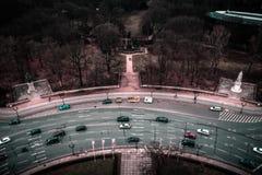 Sikt för fågelöga, Berlin Arkivfoto