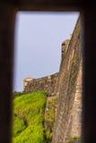 Sikt för fortSt Cristobal från Garitaen Royaltyfri Fotografi
