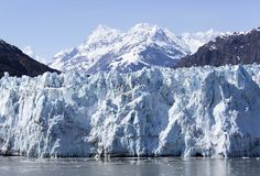 Sikt för glaciär för Alaska ` s scenisk Arkivfoton