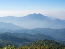Sikt för högst berg Royaltyfri Fotografi