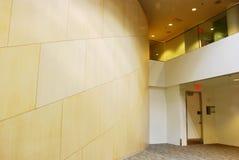 sikt för interior för stadsedmonton korridor Arkivfoton