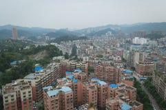 Sikt för Kina villegestad av turismstaden guiyang 17 Royaltyfria Bilder