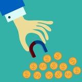 sikt för kreditering för bakgrundskortclose finansiell övre royaltyfri illustrationer