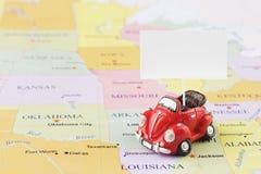 sikt för lopp för toy för översikt för bilbil begreppsmässig Royaltyfria Foton