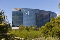 Sikt för M-semesterortdag i Las Vegas, NV på Augusti 20, 2013 Royaltyfria Foton