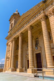 Sikt för Mgarr kyrkasida Arkivfoton