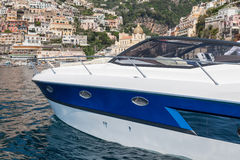 sikt för motor för baikal fartyglake panorama- Arkivfoto