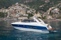sikt för motor för baikal fartyglake panorama- Royaltyfri Foto