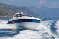 sikt för motor för baikal fartyglake panorama- Arkivbilder