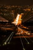 sikt för natt ii arkivbilder