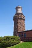 sikt för norr bakre torn för lampor tvilling- Royaltyfria Foton