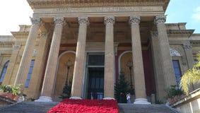 Sikt för Palermo teaterzoom Royaltyfria Bilder
