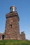 sikt för södra torn för lampasida tvilling- Royaltyfria Foton