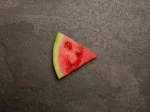 Sikt för skiva för vattenmelonlekknapp bästa Royaltyfria Foton