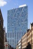 Sikt för skyskrapabyggnadslandskap i mitten av London England arkivbilder