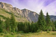 sikt för solunska för glavamacedonia berg royaltyfri foto