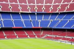 sikt för stadion för barcelona lägernou Royaltyfria Bilder