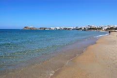sikt för strandönaxos Royaltyfri Bild