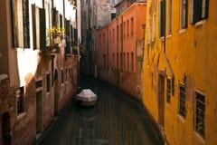 Sikt för Venedig stadsdag Arkivfoto