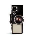sikt för främre film för kamera gammal Arkivbilder