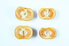 Sikt f?r h?g vinkel av den b?sta sikten f?r citron royaltyfri bild