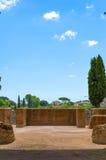 Sikt från balkongen av palatinen i rome Arkivbild
