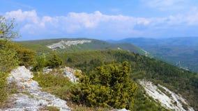 Sikt från bergen lager videofilmer