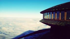 Sikt från berget Royaltyfri Foto