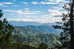 Sikt från berget Fotografering för Bildbyråer