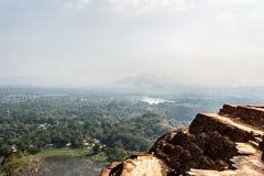 Sikt från berget Arkivfoton