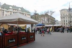 Sikt från Budapest, Ungern Royaltyfria Bilder
