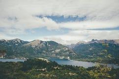 Sikt från Cerro Campanario royaltyfri foto