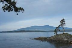 Sikt från den Bowen ön Royaltyfria Bilder