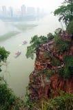 Sikt från den Gaint Buddha Royaltyfri Fotografi