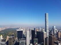 Sikt från den Rockefeller överkanten av vagga Arkivfoto
