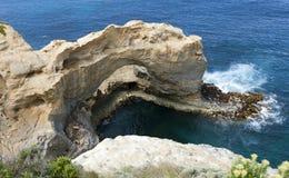 Sikt från den stora havvägen Royaltyfria Bilder