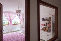 Sikt från den varma korridoren Royaltyfri Bild