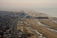 Sikt från det Blackpool tornet fotografering för bildbyråer