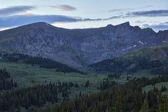 Sikt från det Guanella passerandet, Colorado Royaltyfria Foton