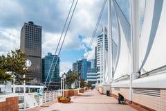 Sikt från det Kanada stället på i stadens centrum Vancouver Fotografering för Bildbyråer