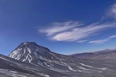 Sikt från det Lascar berget Fotografering för Bildbyråer