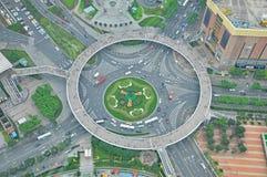 Sikt från det orientaliska pärlemorfärg tornet Arkivfoton