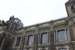 Sikt från Dresden, Tyskland Royaltyfri Fotografi