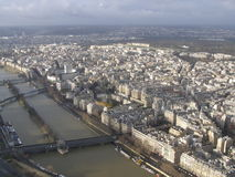 Sikt från Eiffeltorn Royaltyfri Foto
