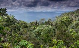Sikt från El Yunque Baracoa Arkivfoton